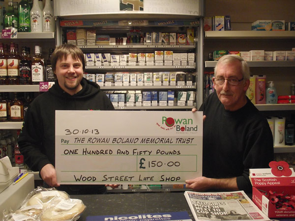 Wood Street Late Shop fundraising